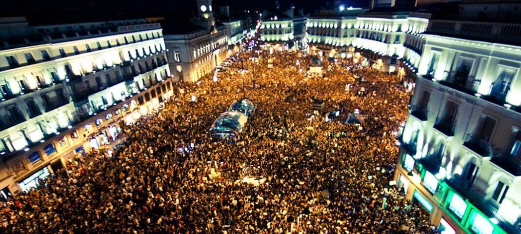 protest Spanien 2011