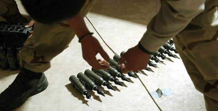 utarmat uran ammunition