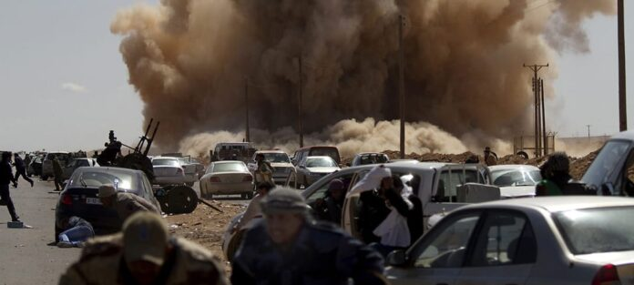 libyen krig