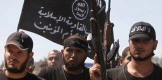 al qaida flag CIA smugglar vapen Inhemsk fundamentalistisk terrorism