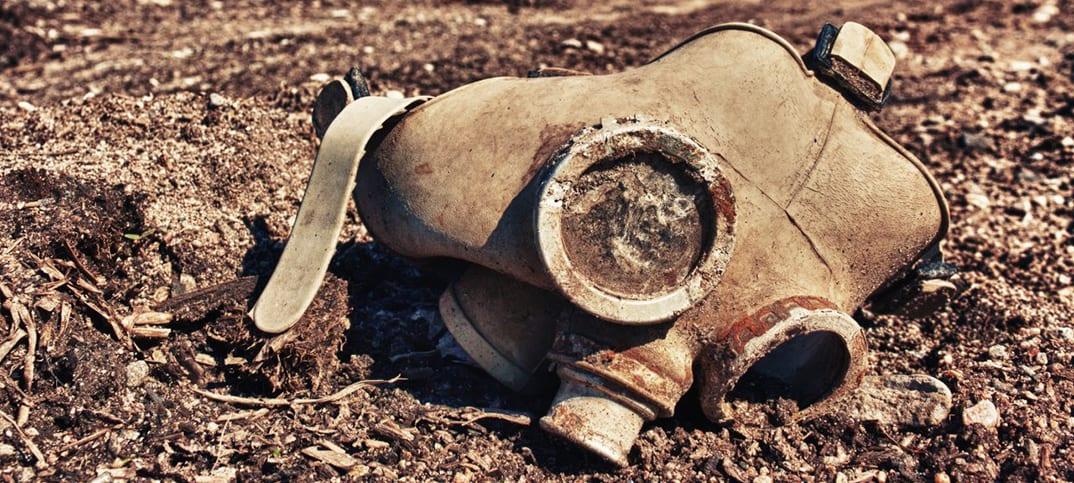 syrien kemvapen kemiska attacken en PM gasattacken Tyska parlamentet