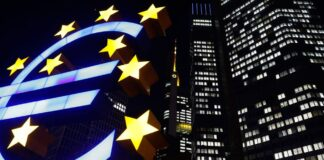 ECB miljarder till bankerna vill inte ha euron