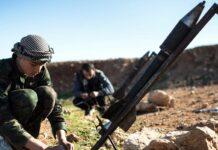 syrian rocket