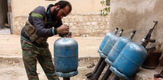 giftgasattacken Rysk rapport Gasattack i Syrien