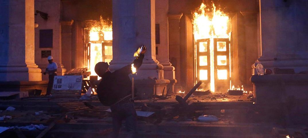 Ukraina odessa Odessamassakern - Vad hände Ukrainsk politiker