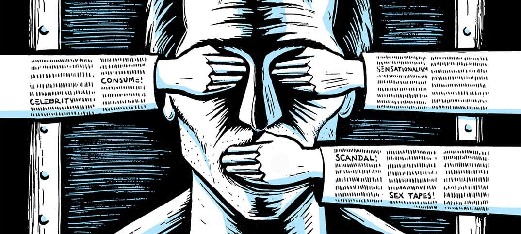 censur Stella Morabito straffskattas cancerbot Dan Rather mörkar sanningen Vissa journalister SOPA