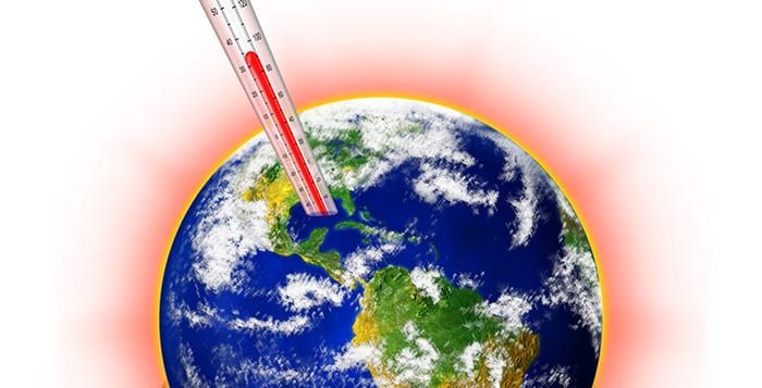 global uppvärmning människan
