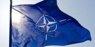 nato flagga Ukrainas armé
