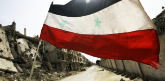 syrisk soldat