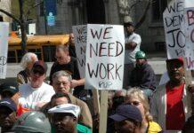 arbetslos USA