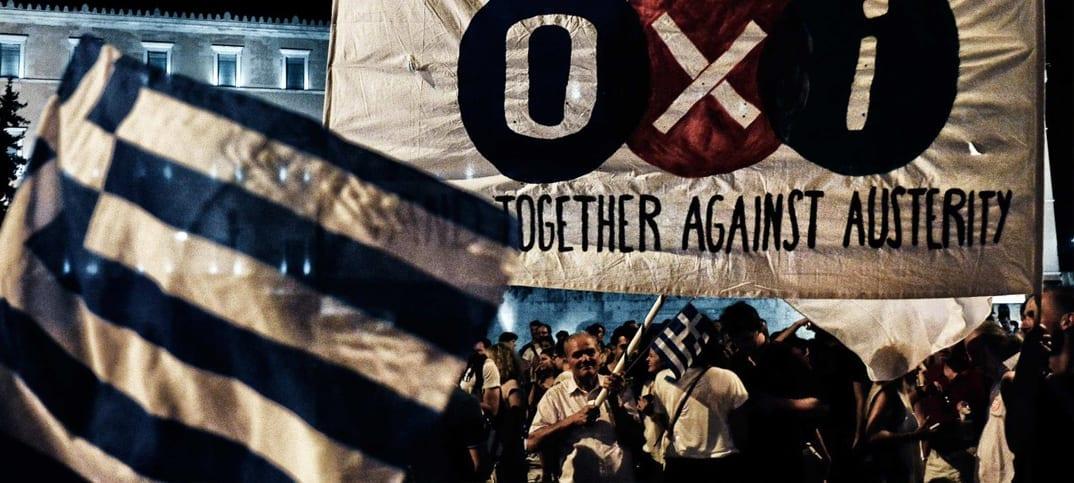 Grekland röstar nej