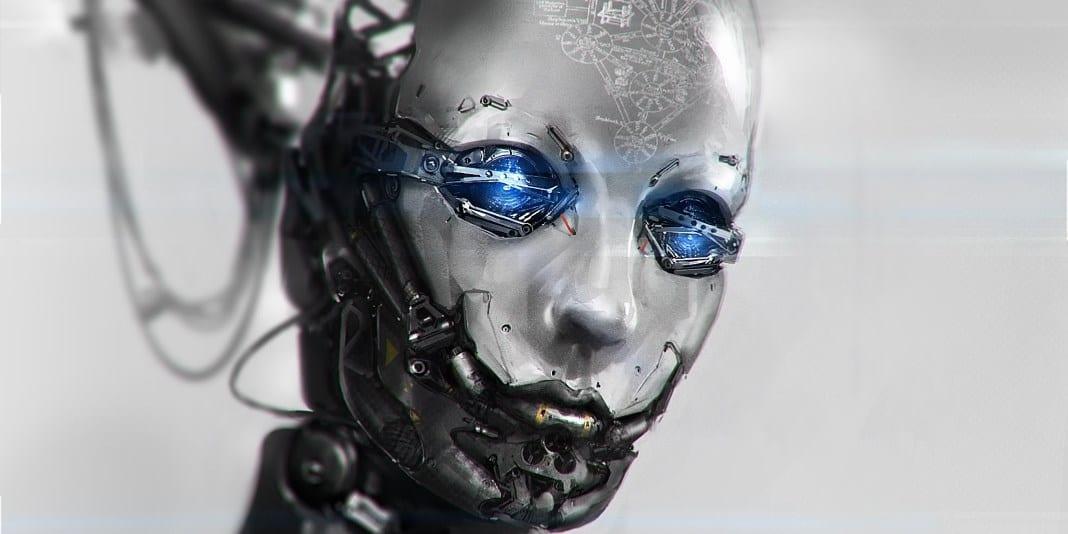 supermänniskan postmänsklig AI-robotar