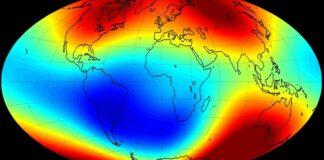 jordens magnetfalt