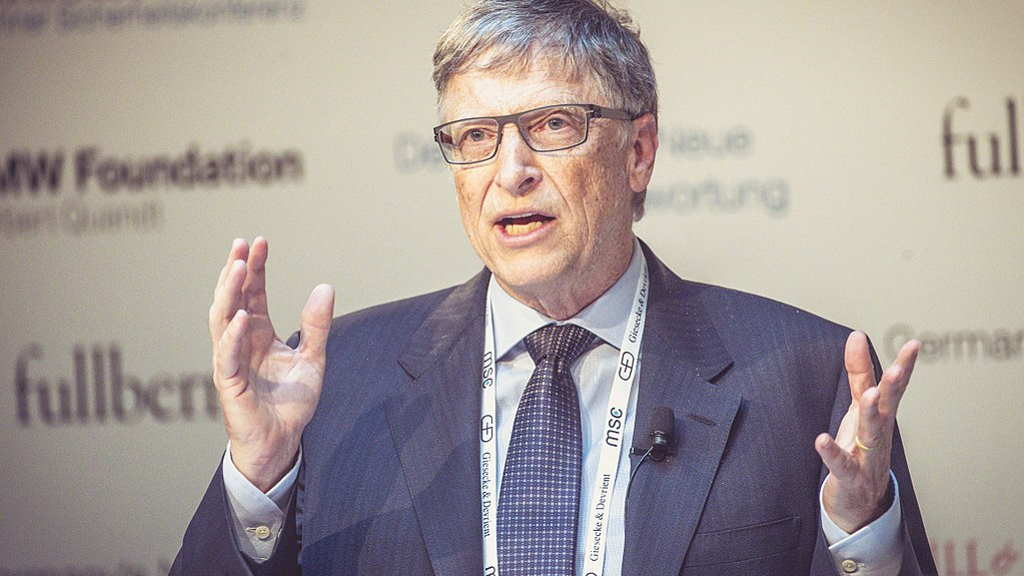 Bill Gates Den falske frälsaren