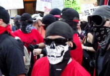 antifa som en terrororganisation
