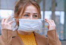 ansiktsmask aerosoliserar