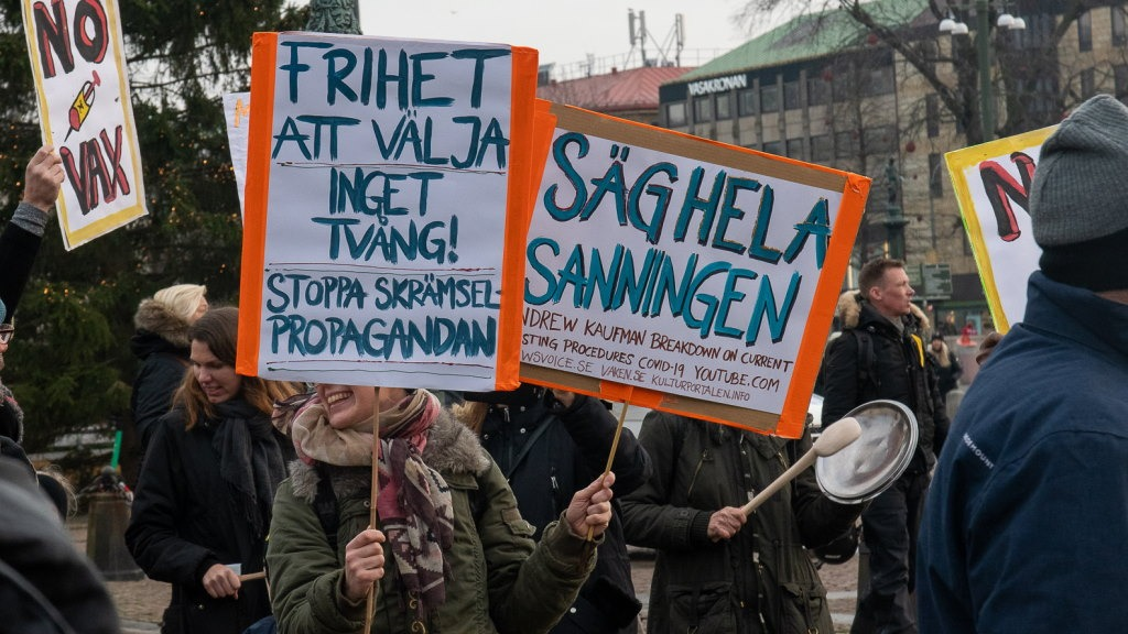 Stor protest