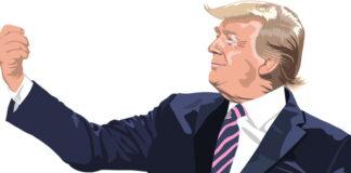 inte startat några krig Donald Trumps röst kommunikationsplattform