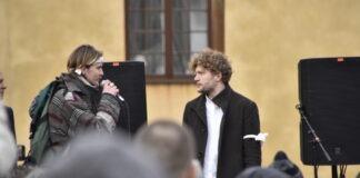 mediernas rapportering Filip Sjöström intervjuas